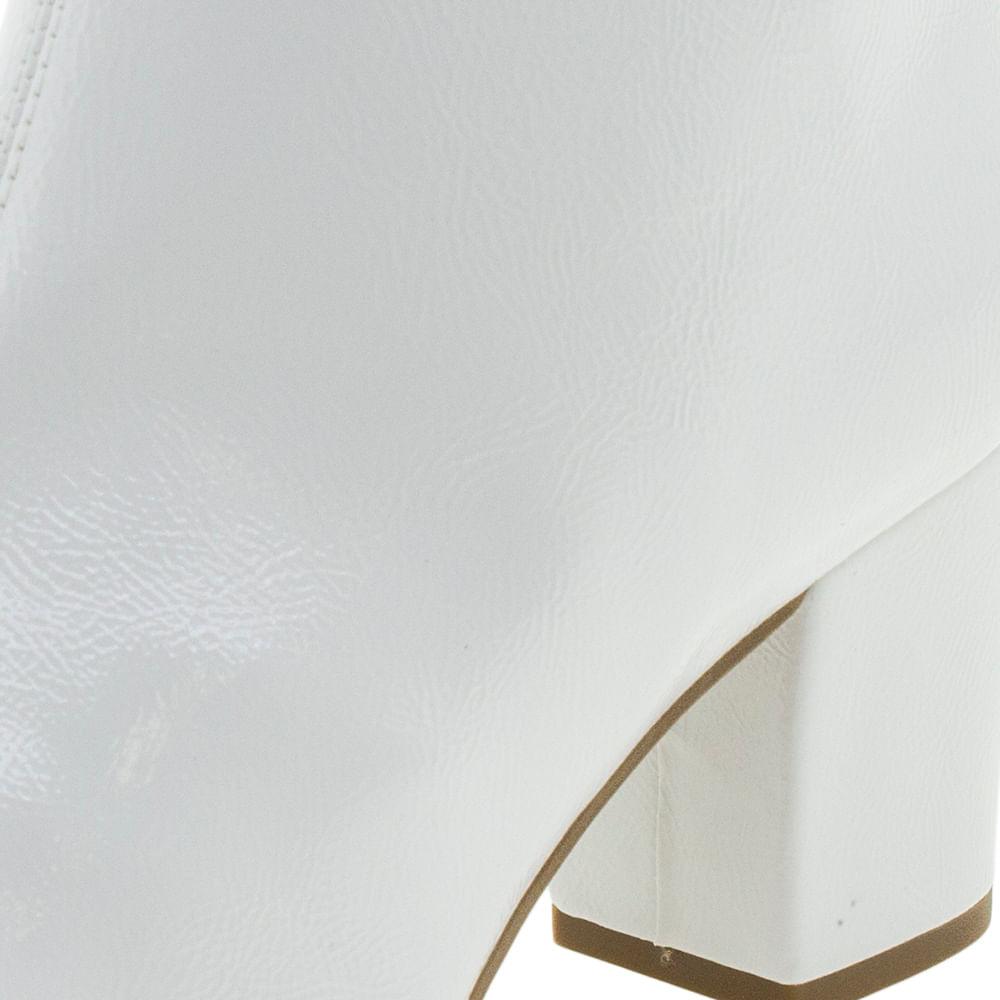 Bota Feminina Cano Baixo Branca Dakota - G0011 - cloviscalcados 80da7a18ae6