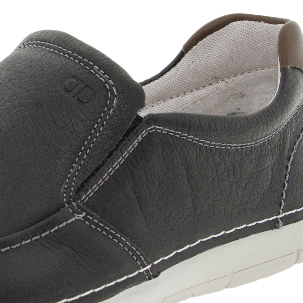 25a27a0cf Sapato Masculino Sharp Preto Democrata - 175101 - cloviscalcados