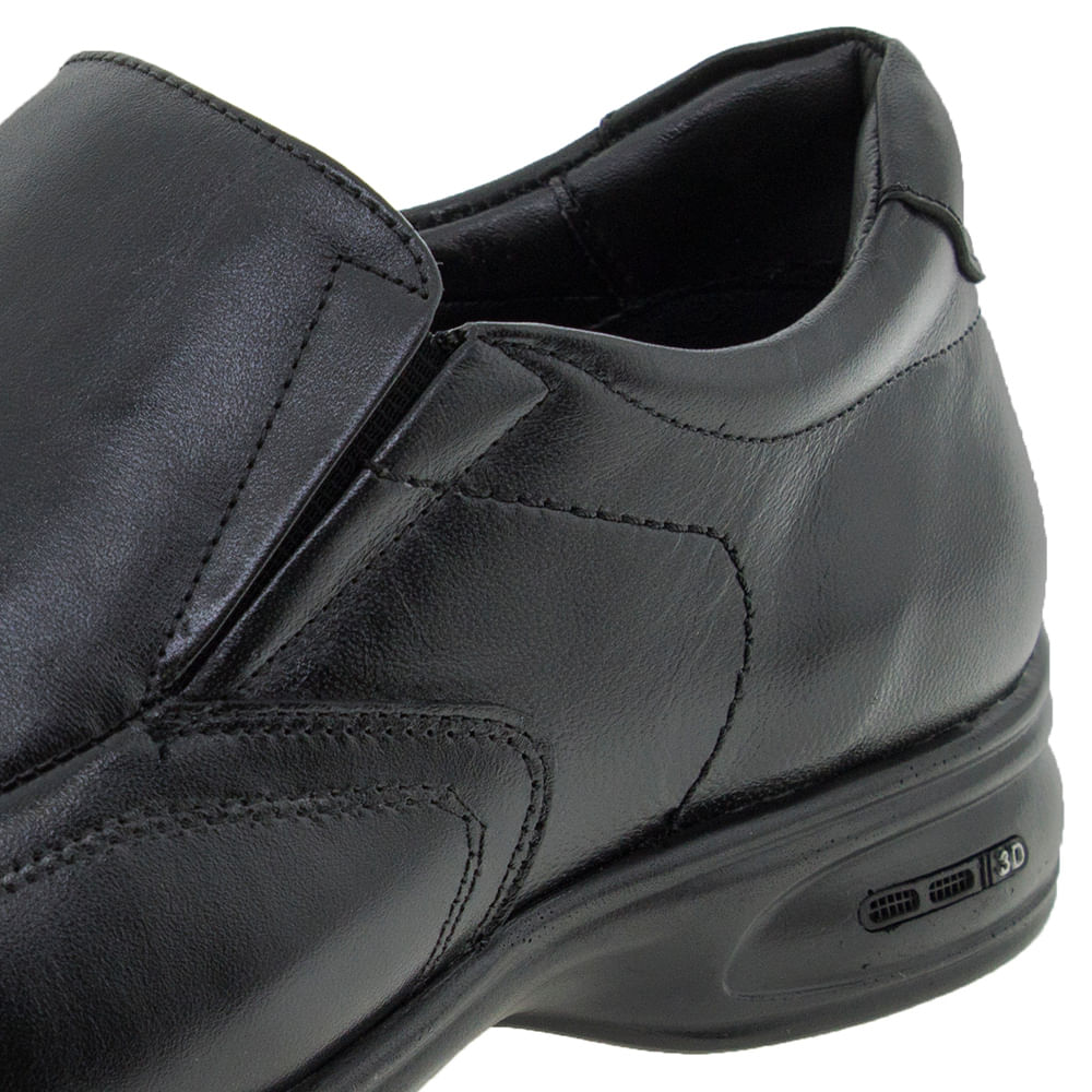 8f59e2b68 Sapato Masculino Social 3D Preto Jota Pe - 71455 - cloviscalcados