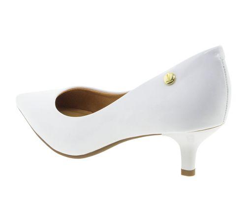 b41f82cf09 Sapato Feminino Scarpin Salto Baixo Branco Vizzano - 1122628 ...