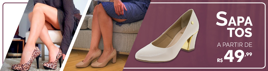 a0de51052 Calçados Femininos - Sandálias, Tênis e Mais | Clovis Calçados