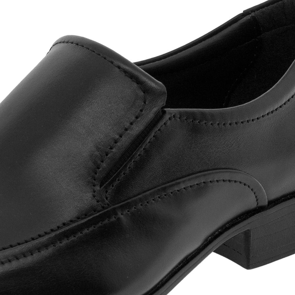 e1e5619c9 Sapato Masculino Social Preto Democrata - 450053 - cloviscalcados