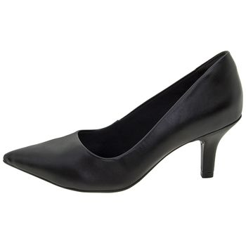 96c44db7eb Ramarim. Sapato Feminino Scarpin Salto Baixo Preto Ramarim - 1726221