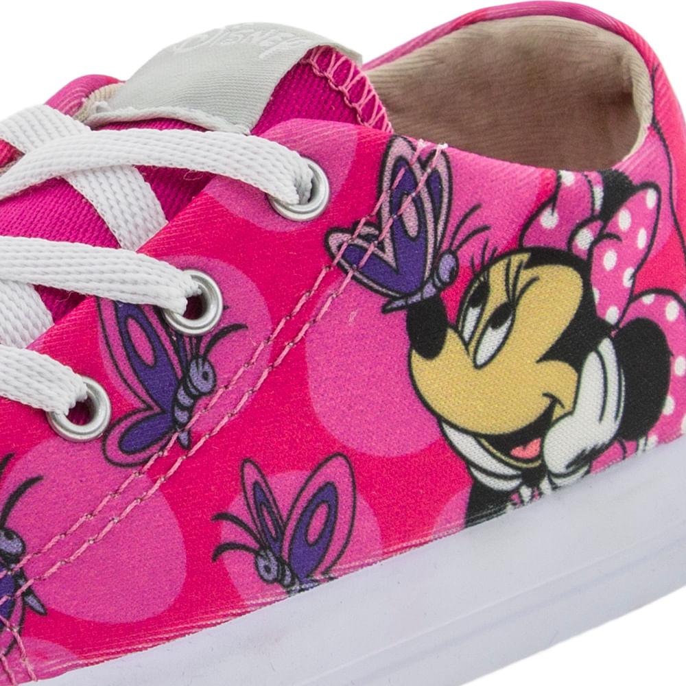 6a0150ce52b Tênis Infantil Feminino Minnie Pink Disney - DD0368 - cloviscalcados