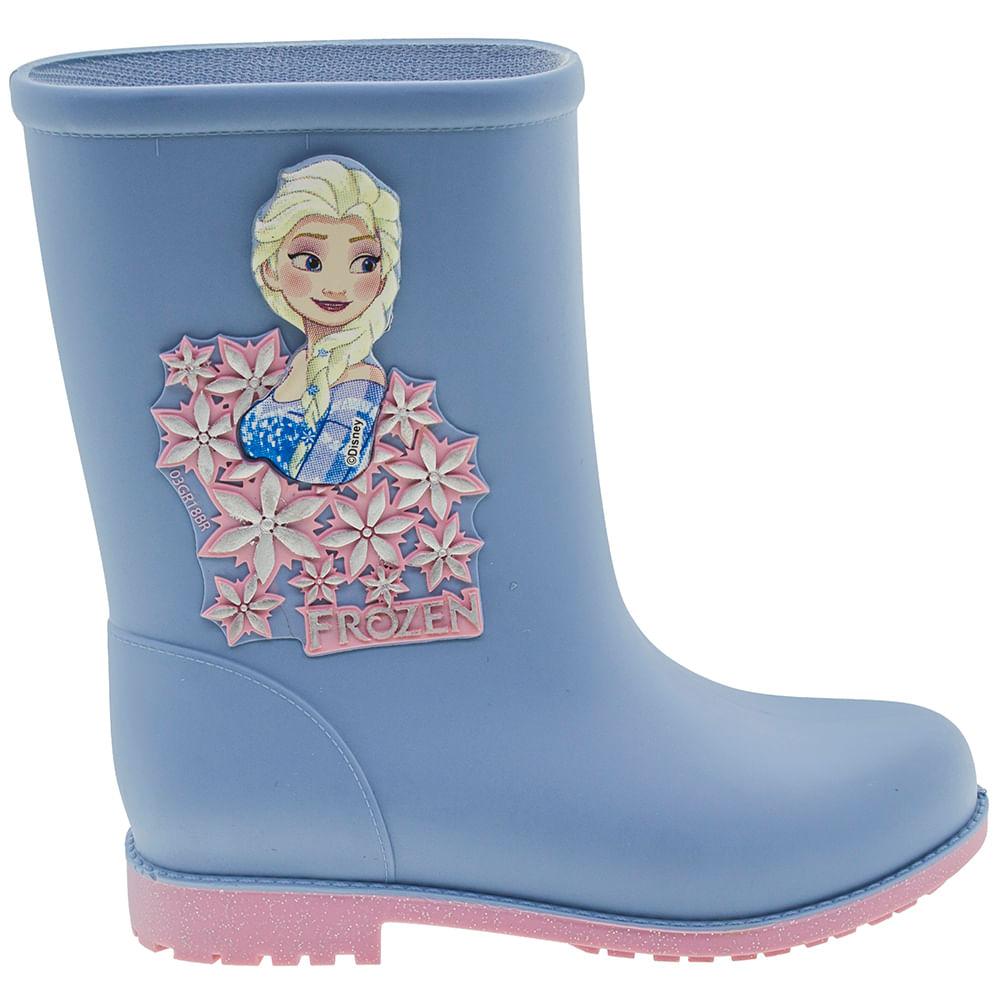 7bf2c9c92d Bota Infantil Feminina Frozen Fashion Azul Grendene Kids - 21753 -  cloviscalcados