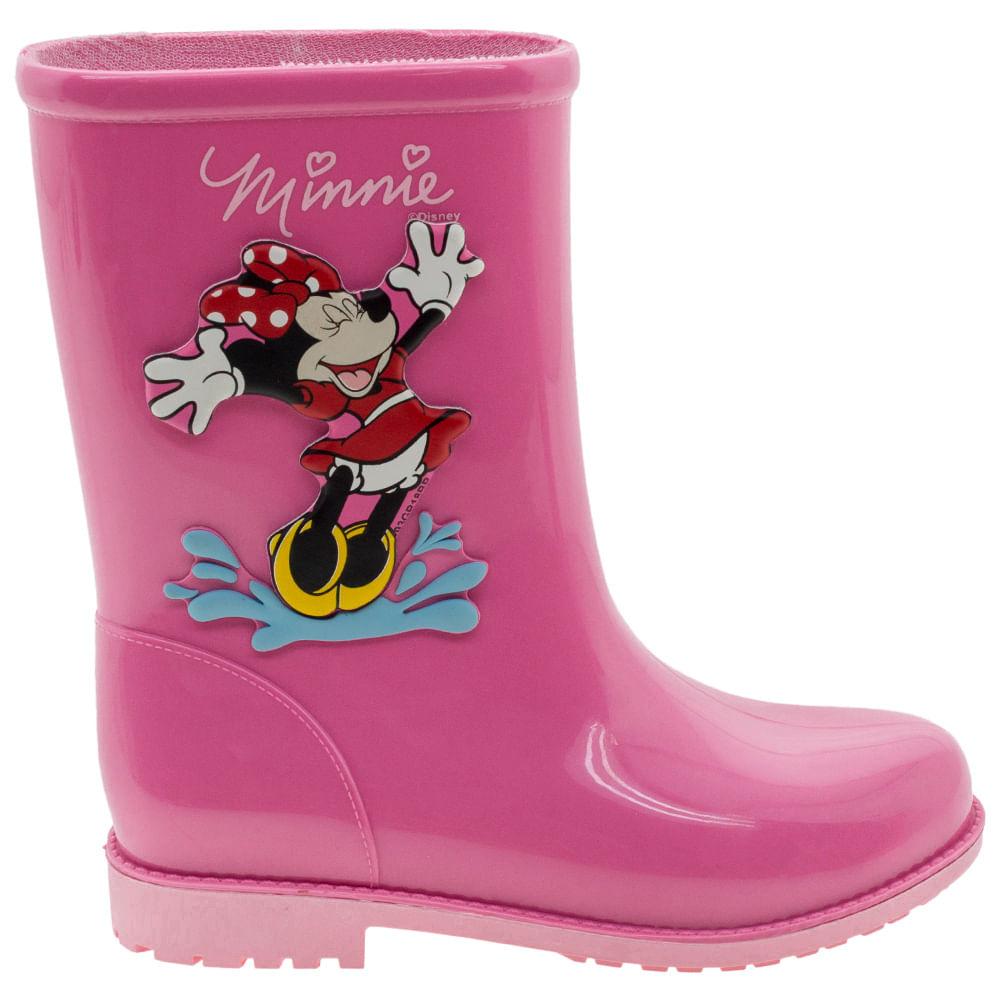 955355e24 Bota Infantil Feminina Minnie Fashion Rosa Grendene Kids - 21753 -  cloviscalcados