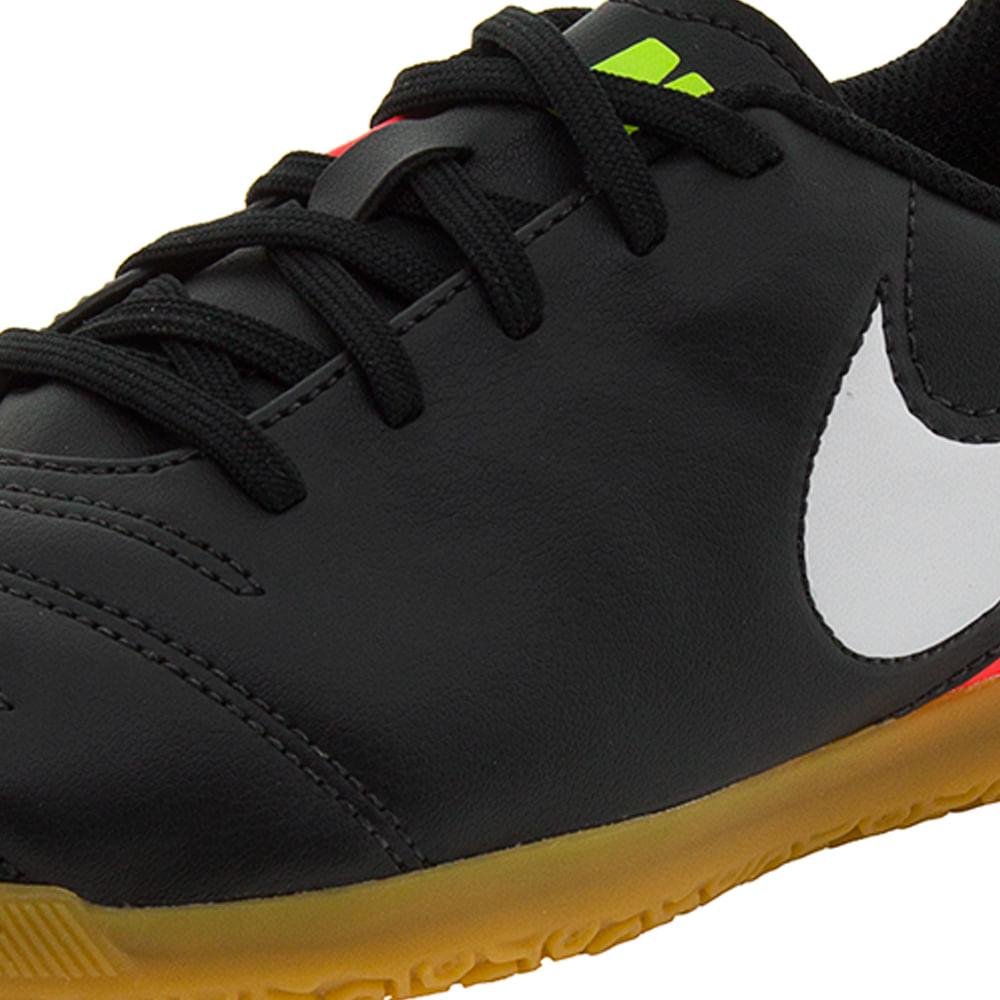 Chuteira infantil Masculina Jr Tiempox Rio Preta Nike - 819196 -  cloviscalcados 890593c995f34