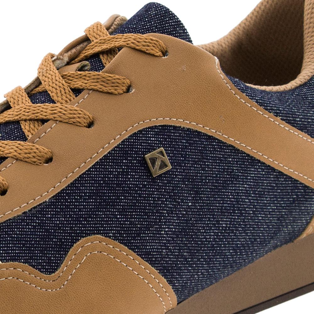 4bf45d51a7 Tênis Feminino Casual Jeans Camel Piccadilly - 968006 - cloviscalcados