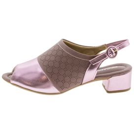 9b9ca5f78 ... Sapato-Feminino-Chanel-Salto-Baixo-Rosa-Piccadilly---. OUTLET