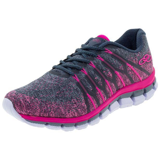 8662e91e90a Tênis Feminino Diffuse 2 Pink Petróleo Olympikus - 463 - cloviscalcados