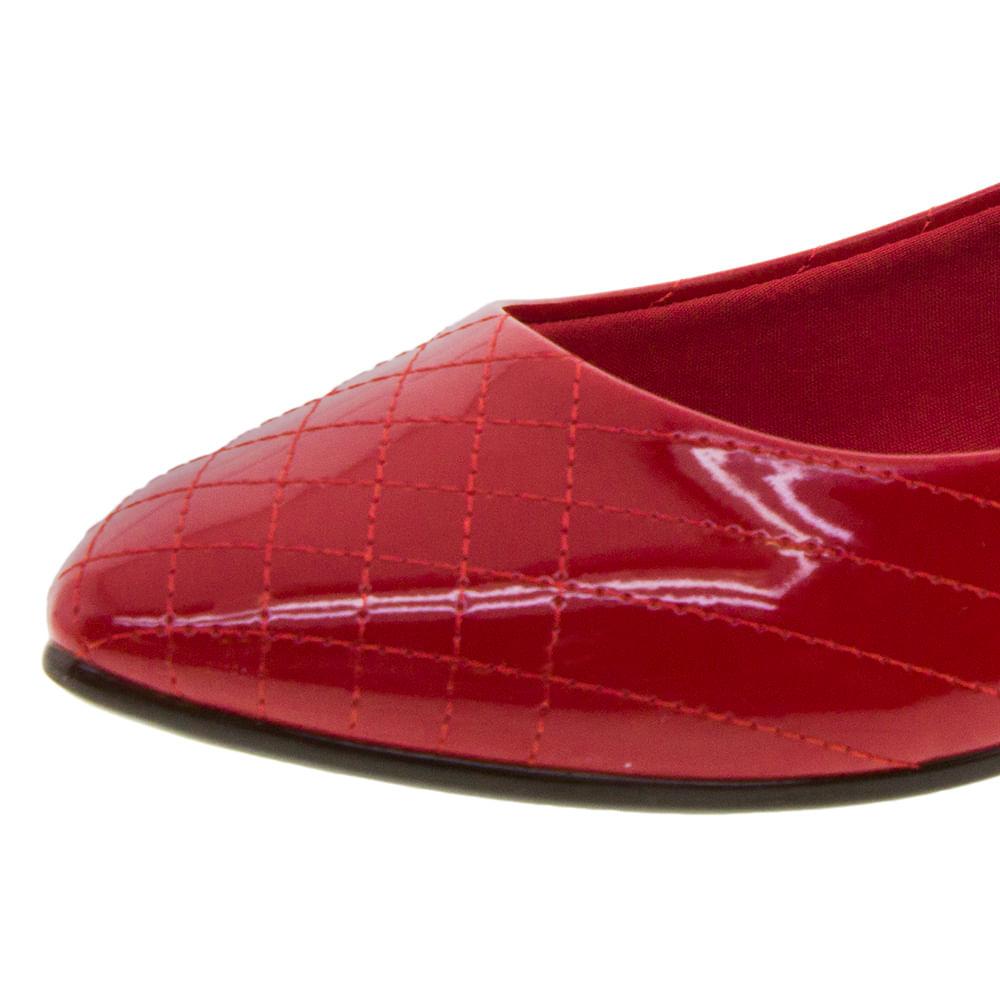 04a8a67921 Sapatilha Feminina Vermelha Moleca - 5635212 - cloviscalcados