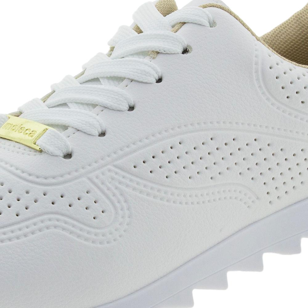 395cbb040 Tênis Feminino Casual Branco Moleca - 5632112 - cloviscalcados