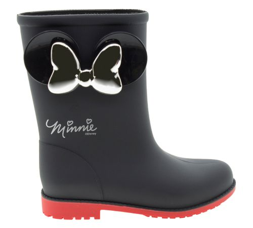 95a6cd58b Bota Infantil Feminina Minnie Fashion Preta Grendene Kids - 21753 ...