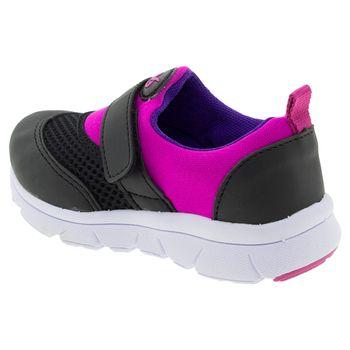 Tenis-Infantil-Feminino-Pink-Preto-Via-Vip---VV1054-03