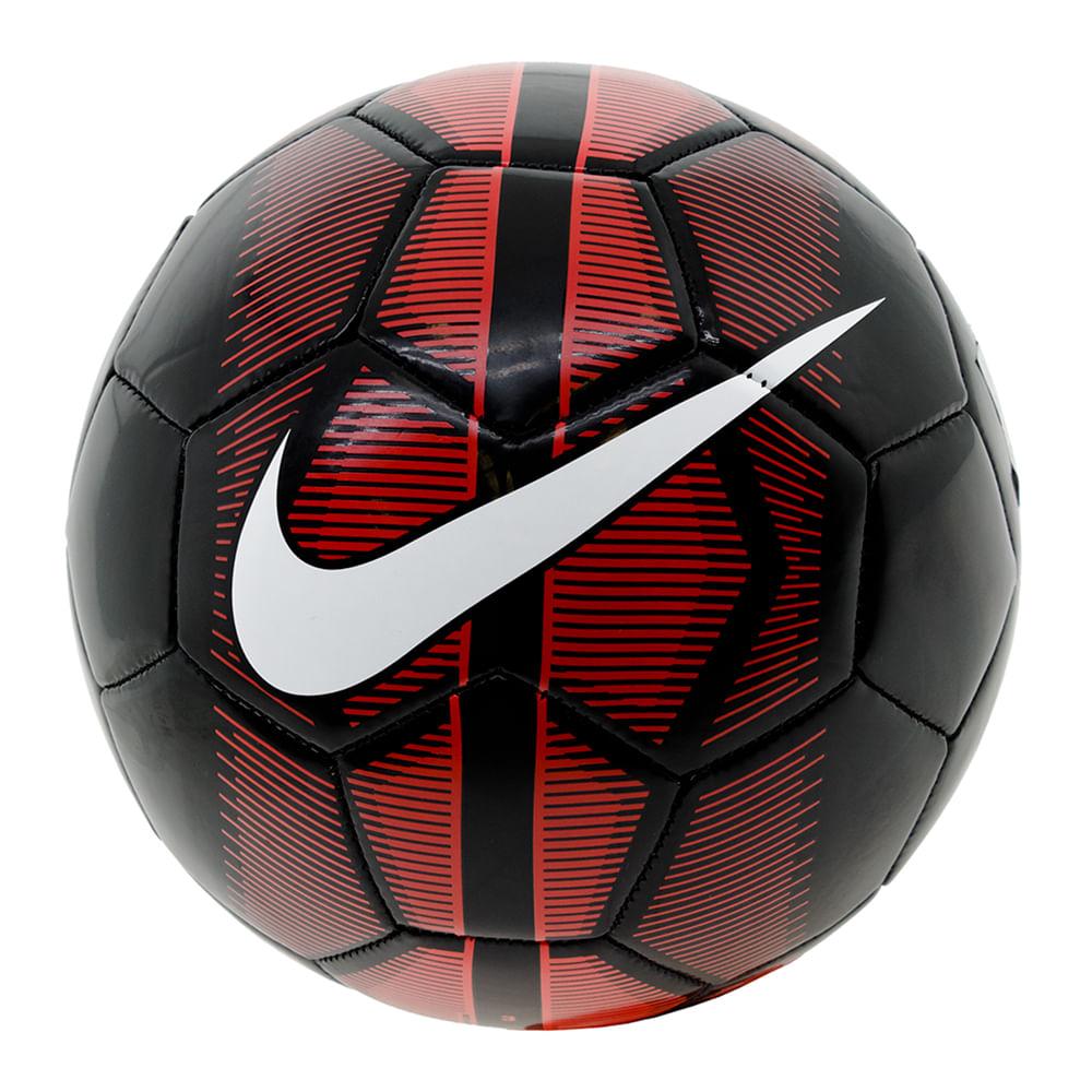 Bola para Futebol Futsal Preto Vermelho Nike - 3022 - cloviscalcados 7969e8f1d1e7f