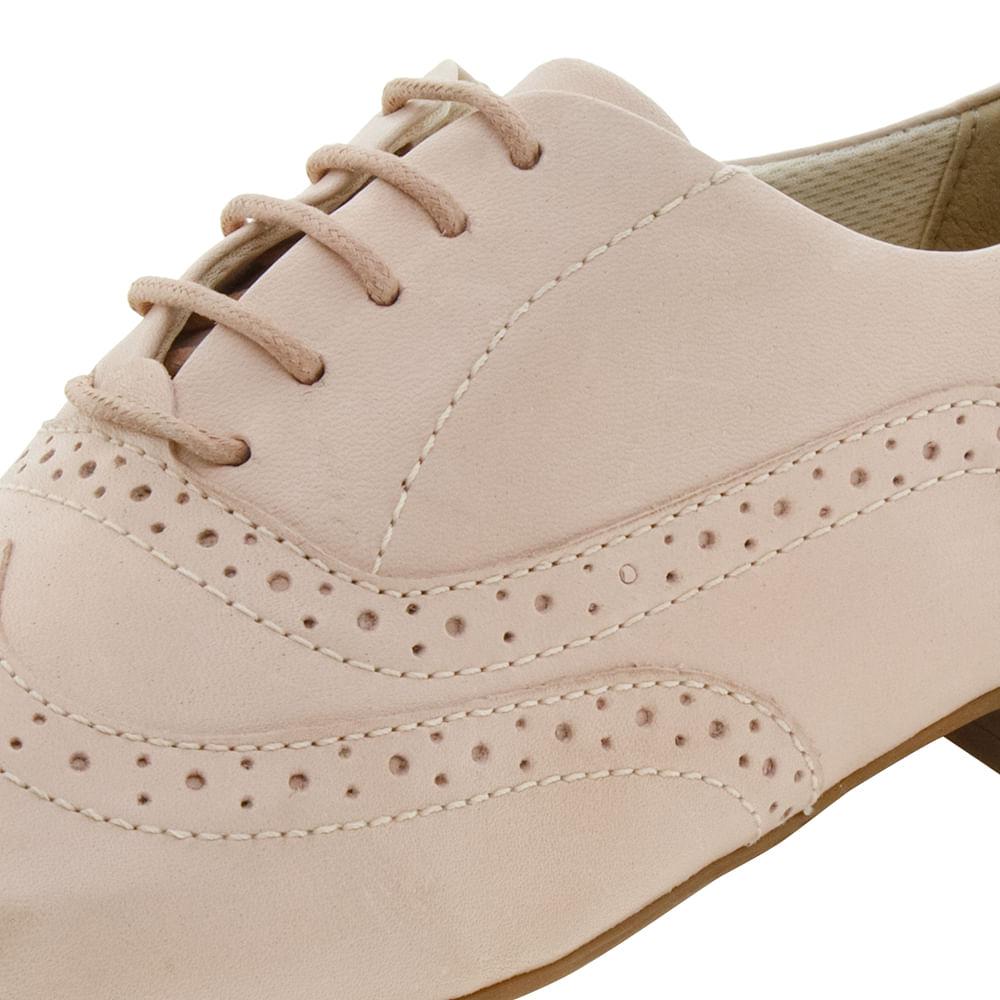 ddd0d03994 Sapato Feminino Oxford Nude Bottero - 259401 - cloviscalcados