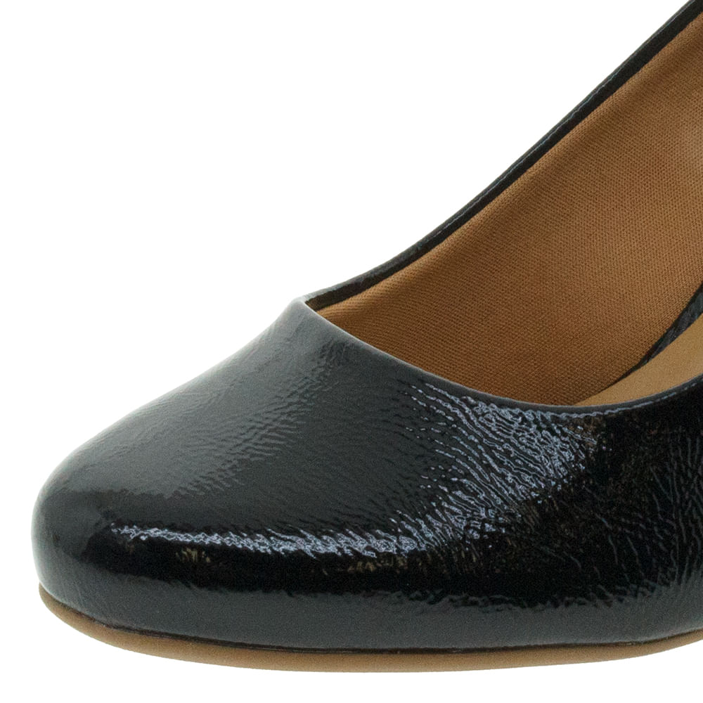 7b94ac18e Sapato Feminino Anabela Preto Vizzano - 1295103 - cloviscalcados