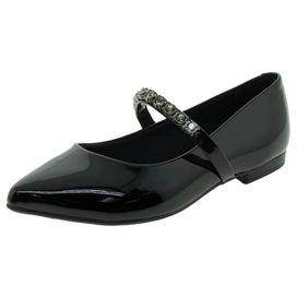 fe11d8719d Sapato Feminino Salto Baixo Verniz Preto.