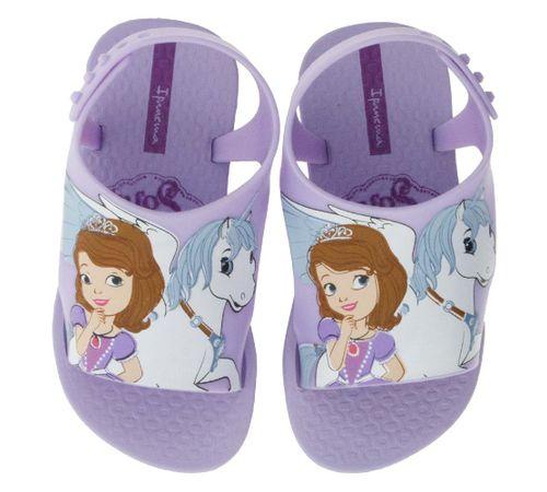 73ddeb48e Chinelo Infantil Baby Princesas Disney Lilás Ipanema - 26279 ...