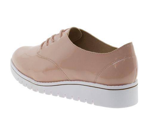 20f09abf3 Sapato Feminino Oxford Rosa Branco Beira Rio - 4174101 - cloviscalcados