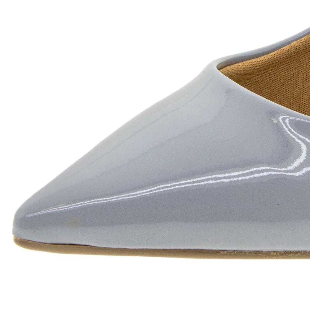 f3b50cb51b Sapato Feminino Scarpin Salto Baixo Lilás Vizzano - 1122600 - cloviscalcados