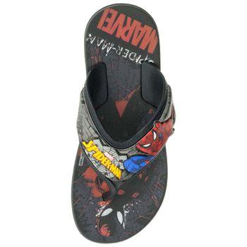 Chinelo-Infantil-Masculino-Homem-Aranha-Preto-Grendene-Kids---21901-04