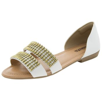 Sandalia-Feminina-Rasteira-Branca-Dakota---Z1471-01