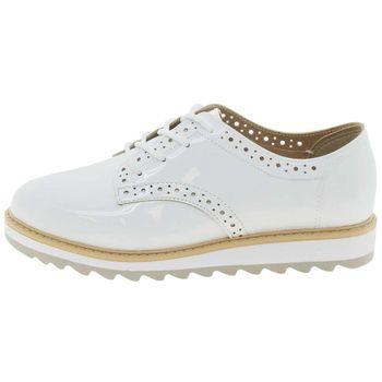 2da944f04 Sapato Infantil Feminino Oxford Branco Molekinha - 2510418 ...