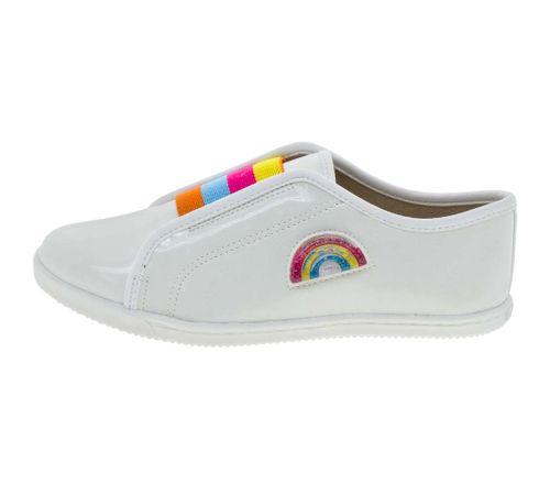 8ca5b49c8df Tênis Infantil Feminino Branco Molekinha - 2155140 - cloviscalcados