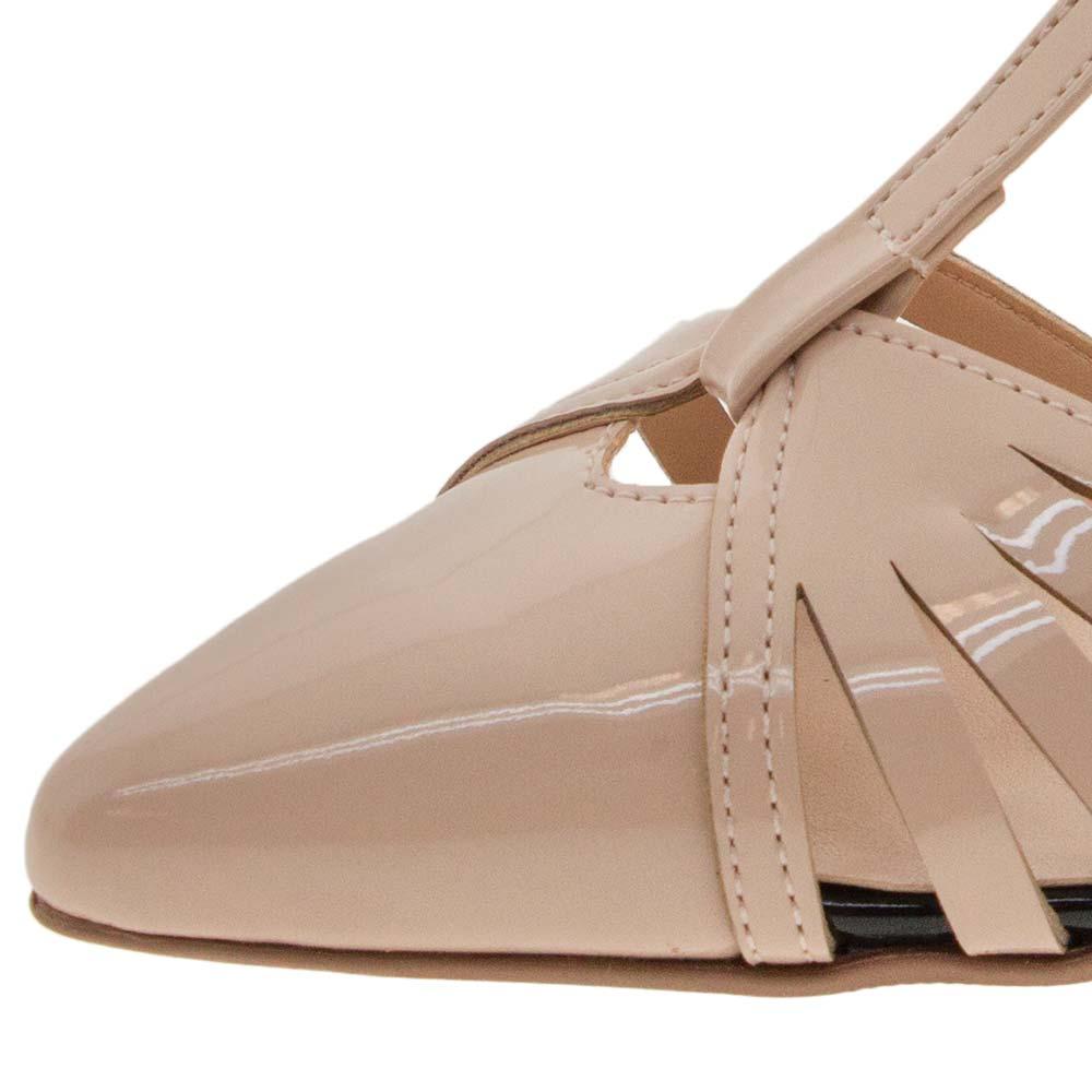 c6d3d5508c Sapato Feminino Scarpin Salto Alto Nude Mixage - 3578936 - cloviscalcados