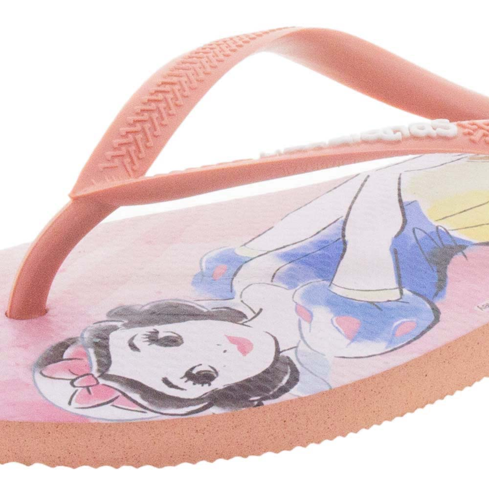 6717dcd04 Chinelo Feminino Slim Princesas Rosa Havaianas - 4135045 - cloviscalcados