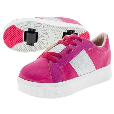 Tenis-Infantil-Feminino-com-Rodinha-Multi-Pink-Molekinha---2513100-01