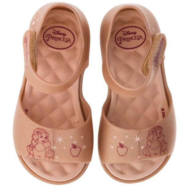 7cf98defe70 Sandália Infantil Baby Princess Rose Grendene Kids- 21842 - cloviscalcados