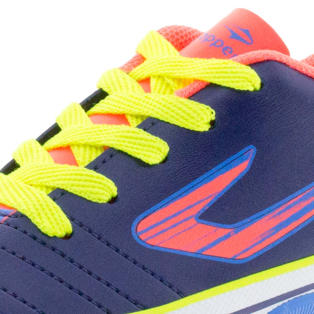 4d6c4d0c54 Tênis Infantil Masculino Futsal Recreio Azul Laranja Topper - 4200430 -  cloviscalcados
