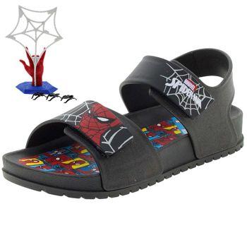 Papete-Infantil-Masculina-Homem-Aranha-Preta-Grendene-Kids-21852-3291852_001-01