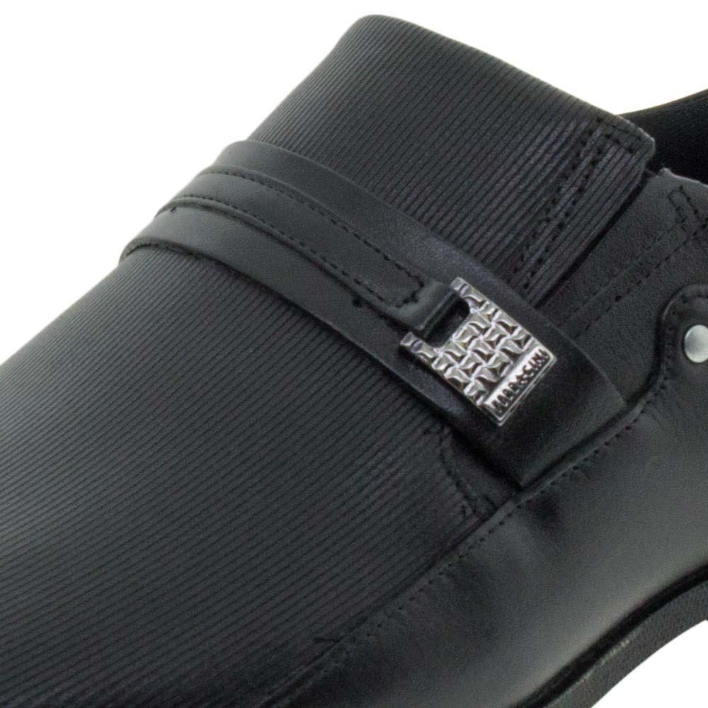 52ff65ed7 Sapato Masculino Social Preto Ferracini - 4059 - cloviscalcados