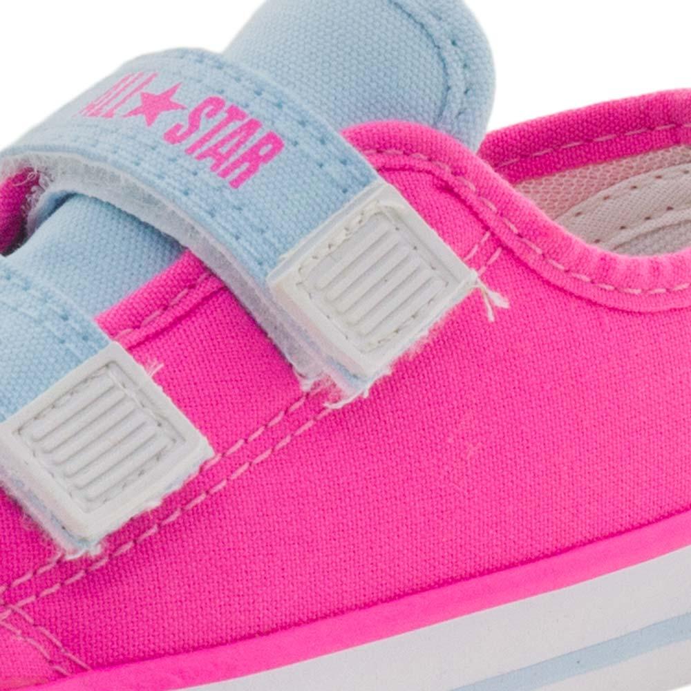 1abbab1c399 Tênis Infantil Feminino Border 2 Pink Converse All Star - CK0572 -  cloviscalcados
