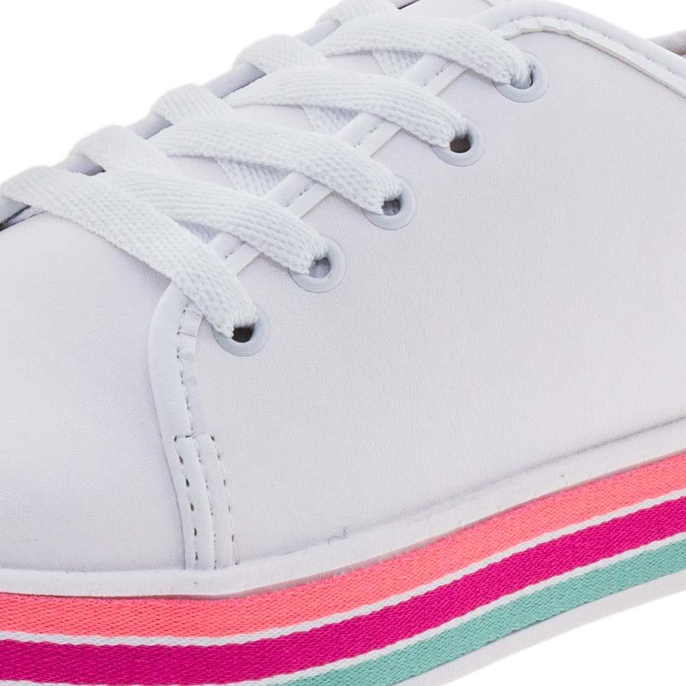 Tênis Infantil Feminino Branco Molekinha - 2520300 - cloviscalcados f04245cd6196c