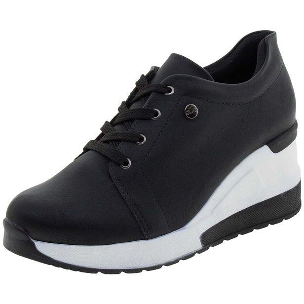 32c4b4a1579 Tênis Feminino Sneaker Preto Quiz - 6837915 - cloviscalcados