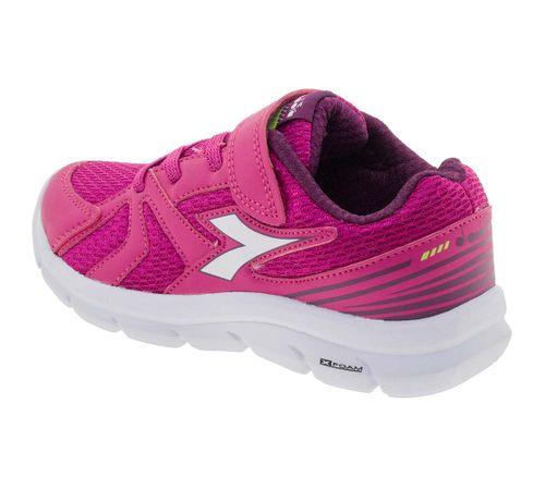 04c9856bca1 Tênis Infantil Feminino Park Pink Diadora - 126102 - cloviscalcados
