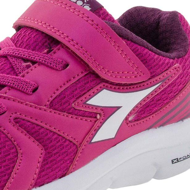 05f6ddf6764 Tênis Infantil Feminino Park Pink Diadora - 126102 - cloviscalcados