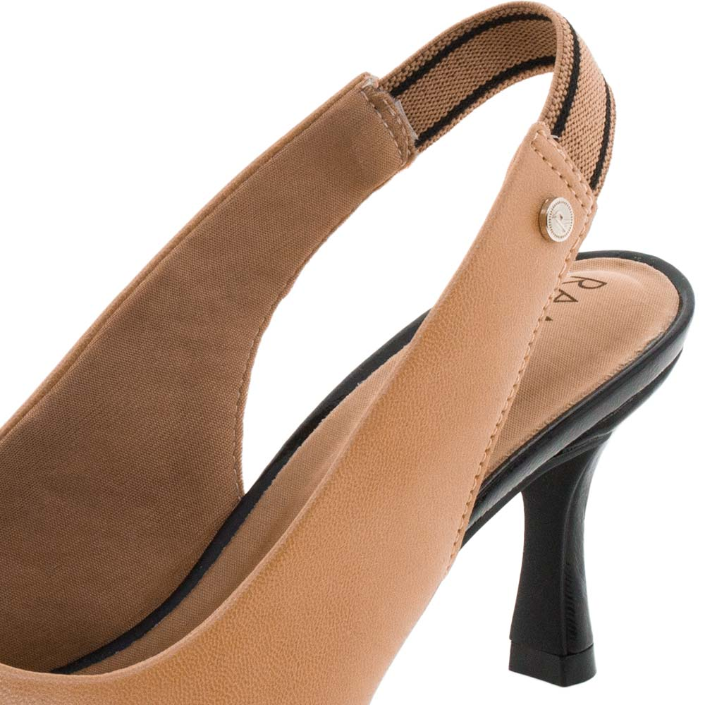 43ef46192 Sapato Feminino Chanel Caramelo Ramarim - 1885201 - cloviscalcados