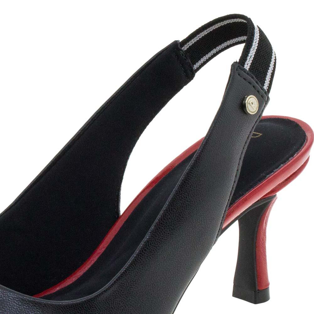 eda986991b Sapato Feminino Chanel Preto Ramarim - 1885201 - cloviscalcados
