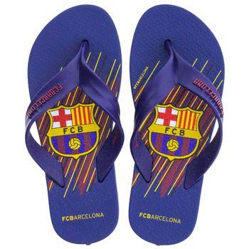 Chinelo-Infantil-Masculino-FC-Barcelona-Azul--Rider---11442-04