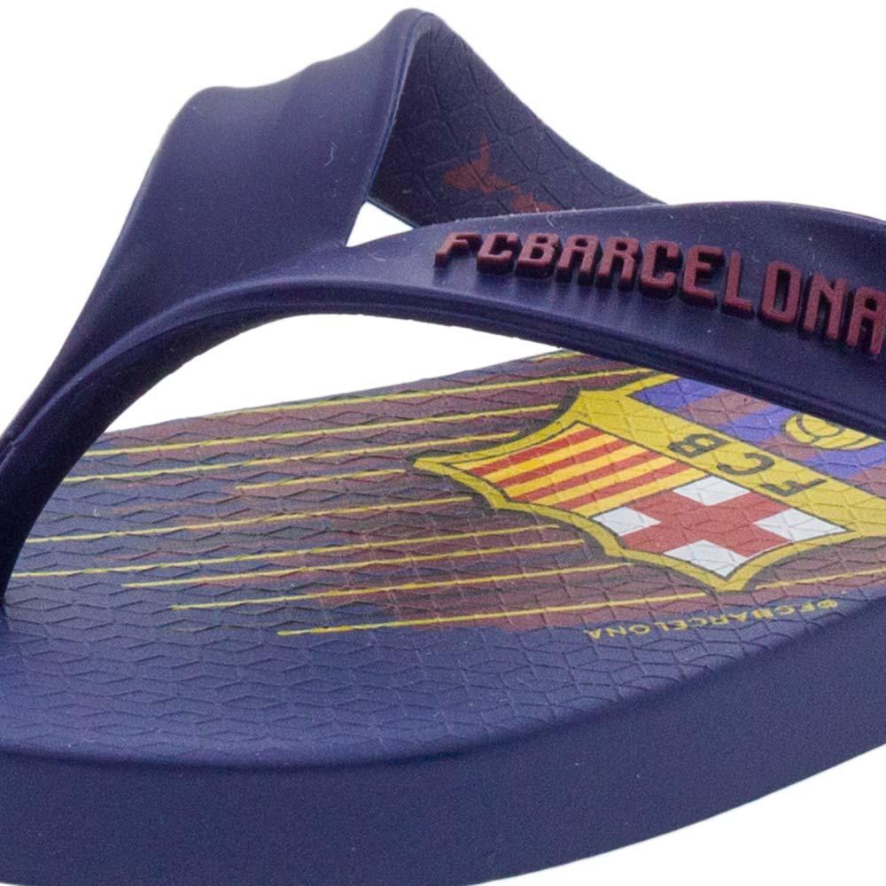 8e340e17f Chinelo Infantil Masculino FC Barcelona Azul Rider - 11442 - cloviscalcados