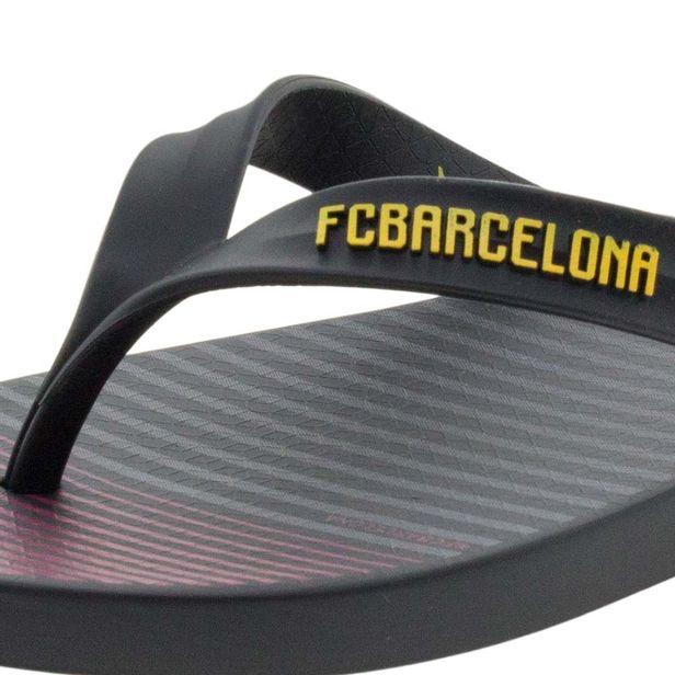 075bd6e38 Chinelo Masculino FC Barcelona Preto Rider - 20542 - cloviscalcados