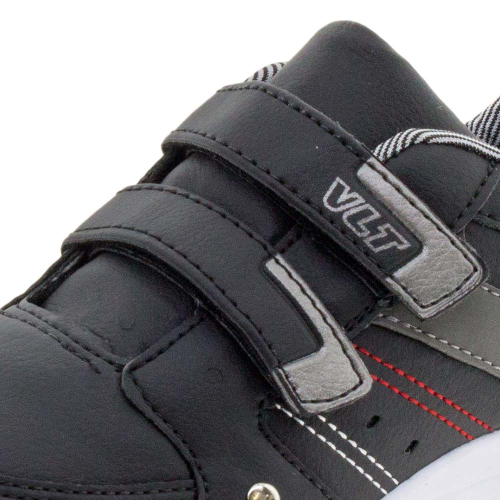17484372f Tênis Infantil Masculino Preto e Branco Vellutinho | Promoção | Lojas  Clovis Calçados - cloviscalcados