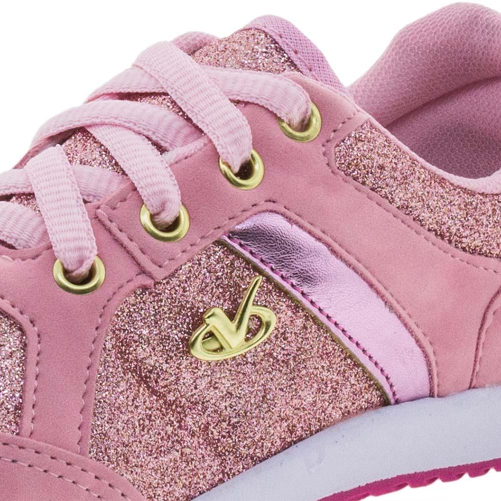 3191dfb95 Tênis Infantil Feminino Pink Via Vip - 2150 - cloviscalcados
