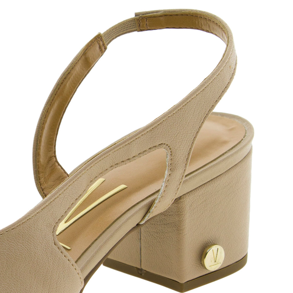 740dc319e1 Sapato Feminino Chanel Bege Vizzano - 1220121 - cloviscalcados