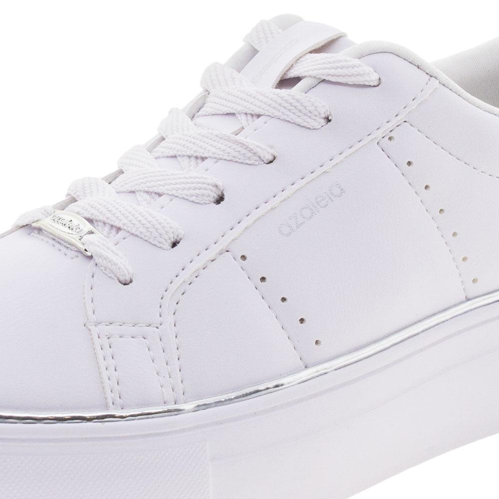 eb2f6c4219 Tênis Feminino Casual Branco Azaleia - 881 511 - cloviscalcados